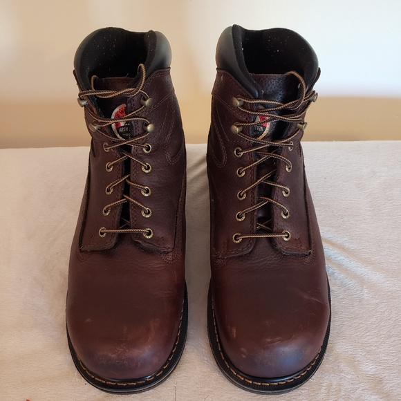 Red Wing Irish Setter Work Boots Lace
